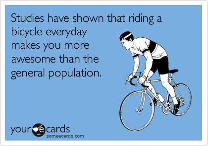 Someecards cycling