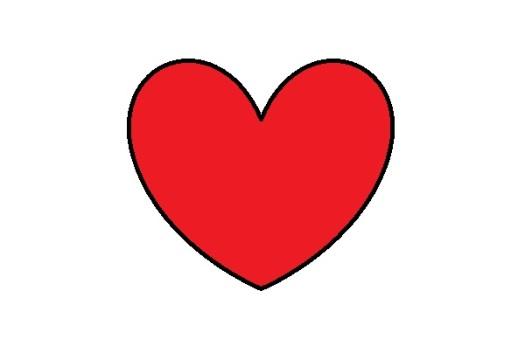 hjärta-länkkärlek