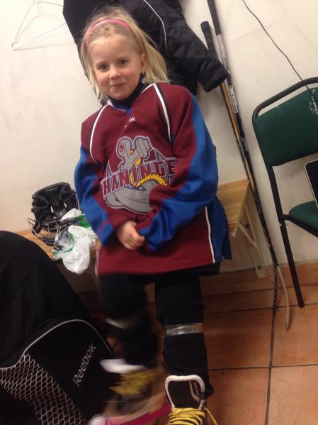 februari Norah hockey